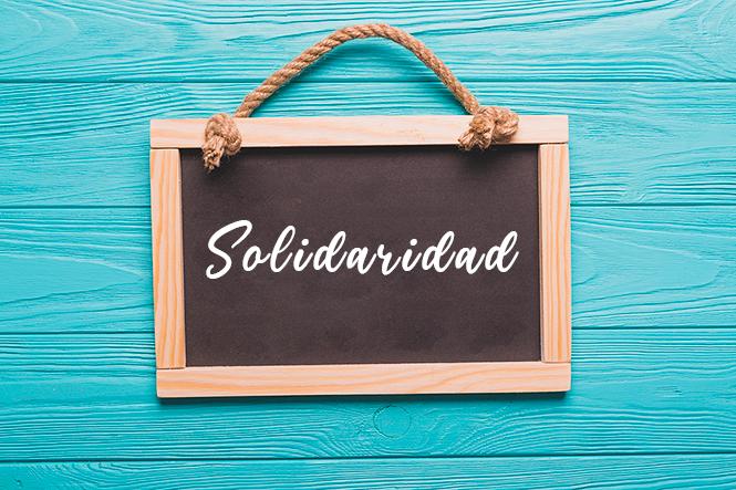 El lazo de la solidaridad